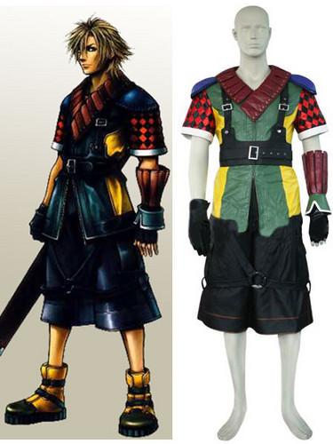 Final Фэнтези XII Shuyin Cosplay Costume