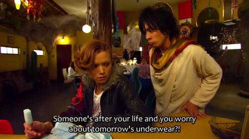 Forgot the underwear 5