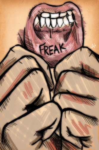 Freak lips LOL!!!!!!!! XD =O
