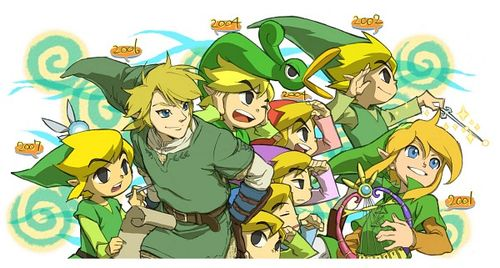 The Legend of Zelda wallpaper containing anime called Funny Legend of Zelda