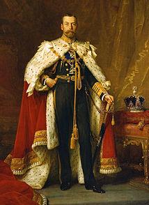 George V (George Frederick Ernest Albert; 3 June 1865 – 20 January 1936)