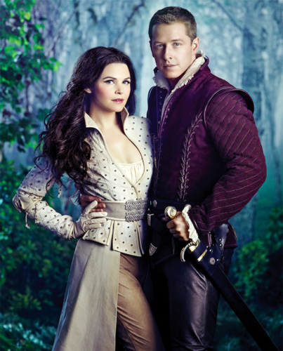 Ginnifer Goodwin and Josh Dallas in Entertainment Weekly