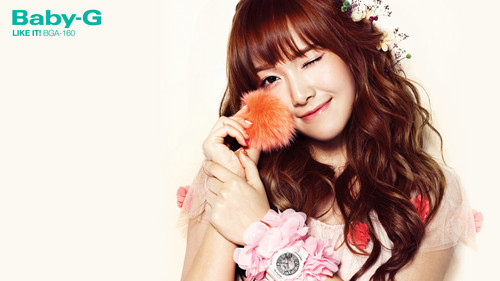 "Girls' Generation Jessica "" Casio's Baby G"""