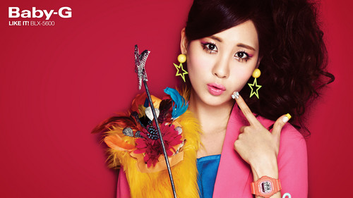 "Girls' Generation Seohyun ""Casio's Baby G"""