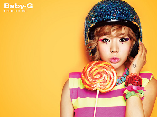 "Girls' Generation Sunny ""Casio's Baby G"""