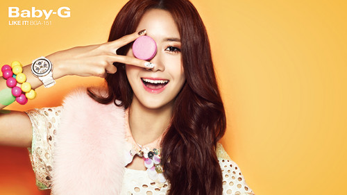 "Girls' Generation Yoona ""Casio's Baby G"""