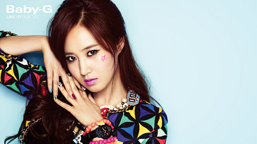 "Girls' Generation Yuri ""Casio's Baby G"""