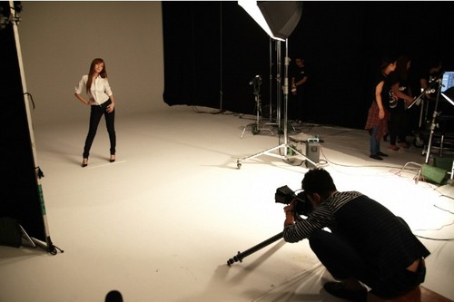 Girls' Generation for G-Star Raw Japan BTS