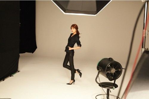 Girls' Generation for G-Star Raw jepang BTS