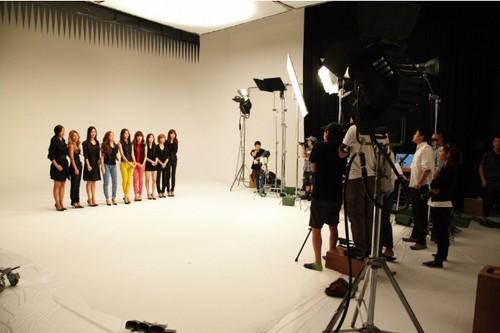 Girls' Generation for G-Star Raw 日本 防弾少年団