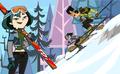Going esquiar, esquí de fondo