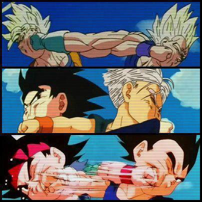 dragon ball z fondo de pantalla called goku vs Vegeta