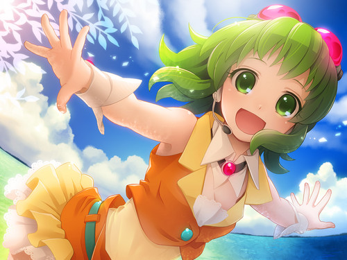 Gumi (Vocaloids) fondo de pantalla called Gumi Megpoid