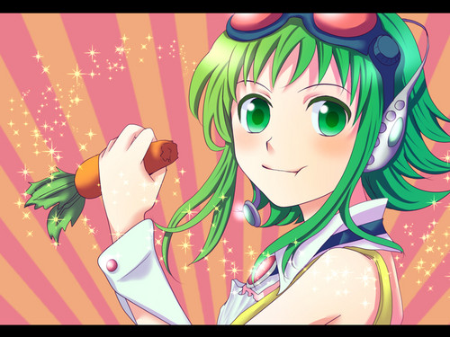 Gumi (Vocaloids) fondo de pantalla possibly with anime called Gumi Megpoid