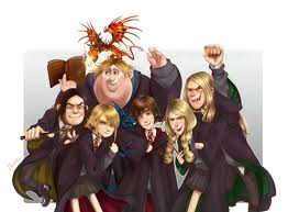 HTTYD meets Harry Potter