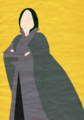 Harry Potter I Minimalist Poster - Snape