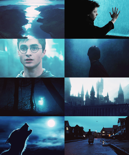 Harry Potter, blue