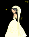 Heather wedding dress