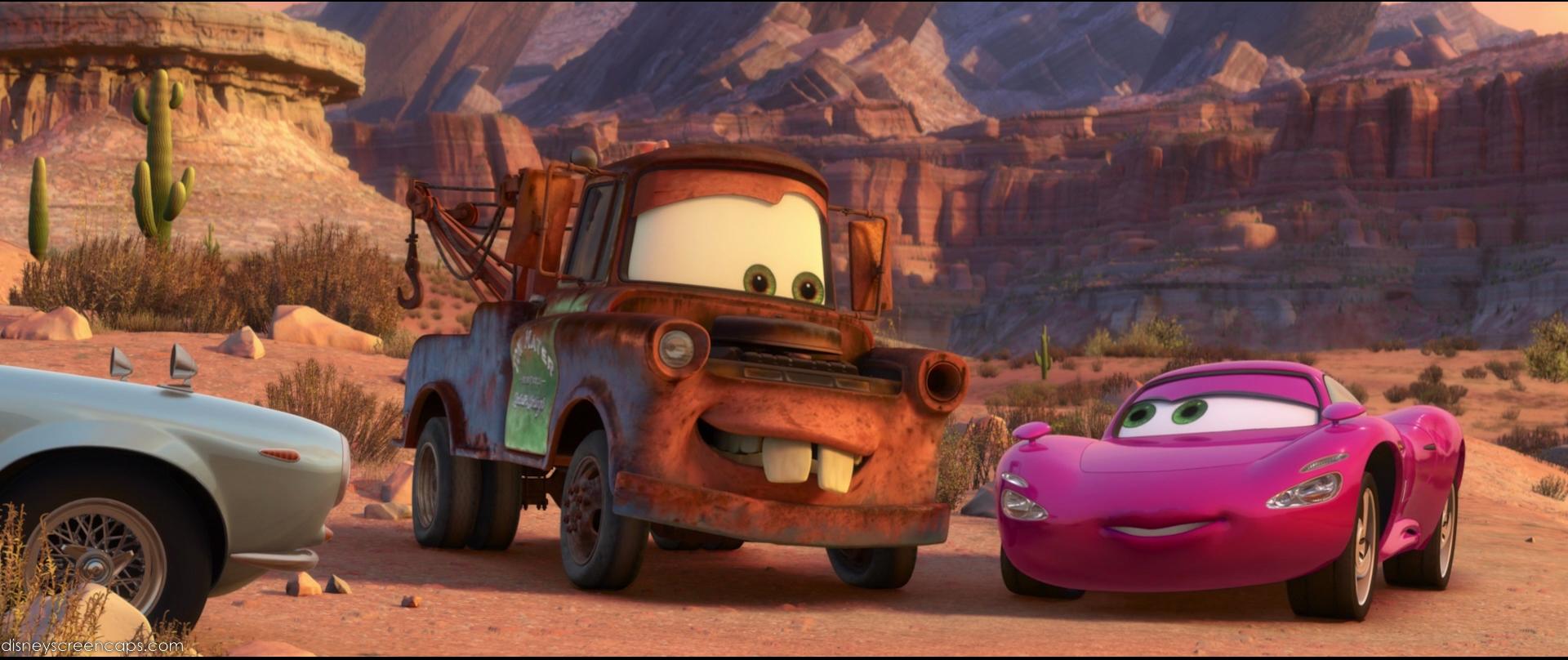 Cars 2 Tow Mater