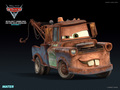 Howdy! I'm Tow Mater, The Super Spy!