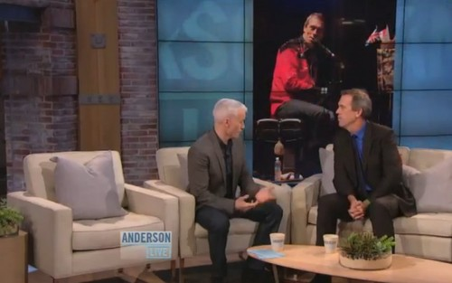 Hugh Laurie- (Anderson Live) 18.10.2012