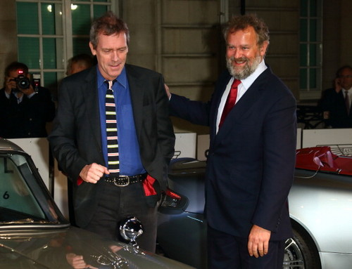 Hugh Laurie and Hugh Bonneville a attend a VIP screening of ''Skyfall' 24.10.2012 London