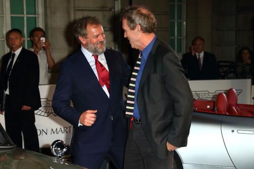 Hugh Laurie and Hugh Bonneville a attend a VIP screening of ''Skyfall' 24.10.2012 London