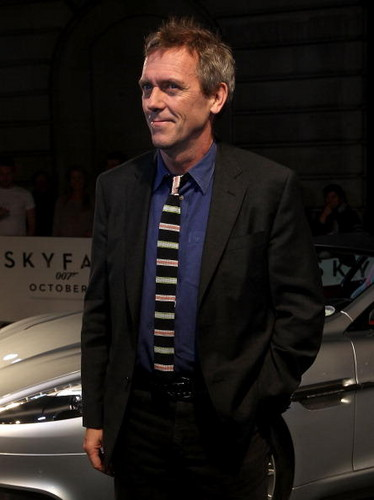 Hugh Laurie a attend a VIP screening of ''Skyfall' 24.10.2012 Лондон