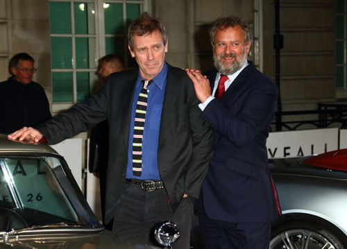 Hugh Laurie and Hugh Bonneville a attend a VIP screening of ''Skyfall' 24.10.2012 런던