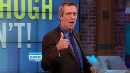Hugh Laurie at Anderson live 18.10.2012