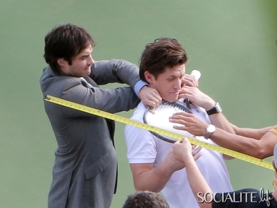 Ian Somerhalder films new movie Time Framed