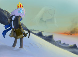 Ice King in The Snow