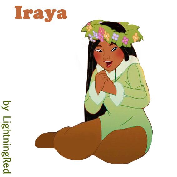 Iraya, Pocahontas' Sister