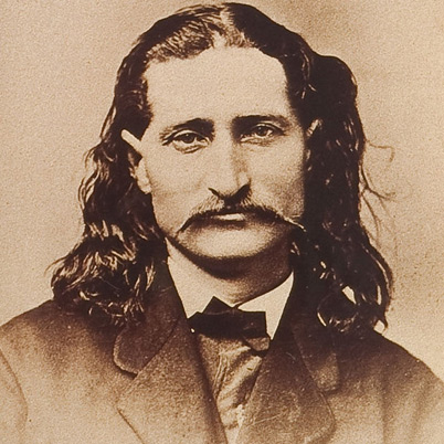 James Butler Hickok -Wild Bill Hickok(May 27, 1837 – August 2, 1876