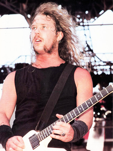 James Hetfield wallpaper with a guitarist titled James