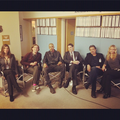 Jeanne, Matthew, Shemar, Thomas, Shemar & AJ - criminal-minds photo