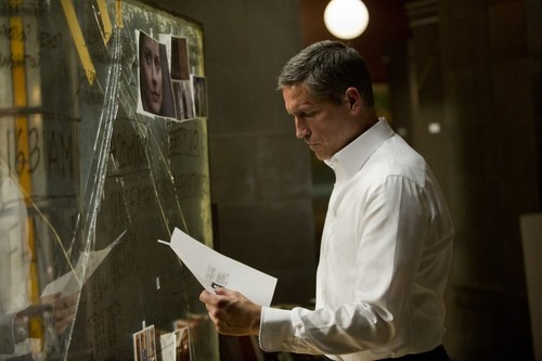 """John Reese wallpaper possibly with a sign titled John Reese 2x01 """"The Contingency."""""""
