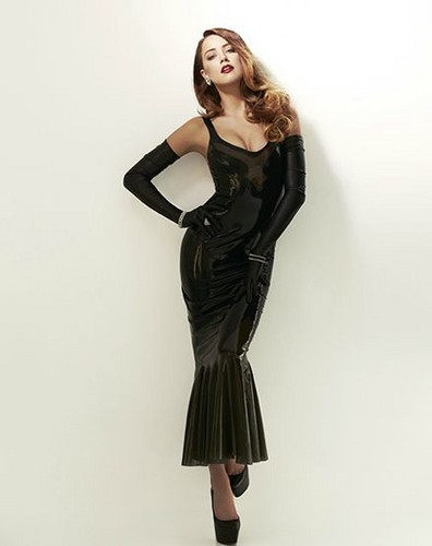 amber heard wallpaper containing a coquetel dress and a well dressed person entitled John Russo Photoshoot
