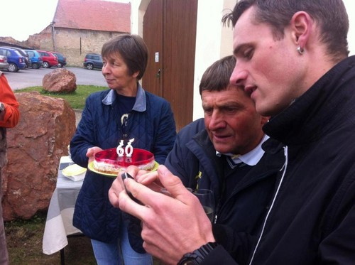 Josef Vana and Josef Bartos celebrates 60th birthday