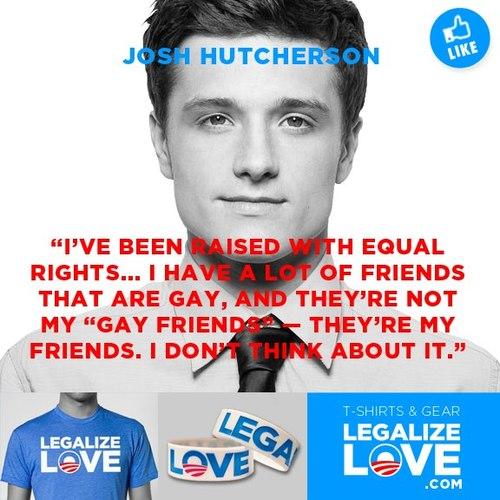 Josh Featured on Legalize प्यार Campaign