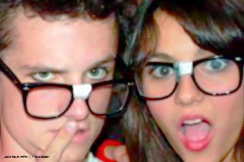 Josh and Victoria Justice