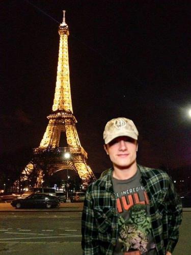 Josh in France