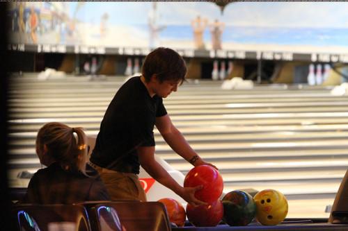 Josh playing bowling (2011)