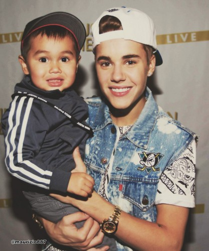 Justin Bieber, Meet and Greet, 2012,