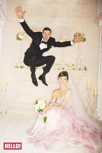 Justin Timberlake and Jessica Biel wedding
