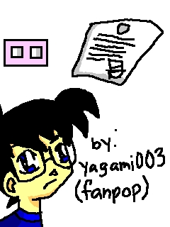 Kaito KID's Notice for Tantei-kun (by: Yagami003)