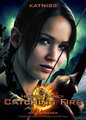 Katniss - Catching آگ کے, آگ