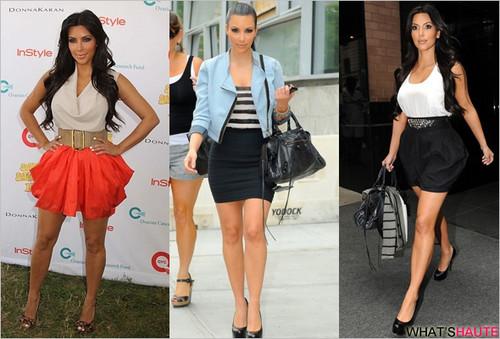 Kim Kardashion 2010 fashion