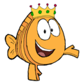 King Mr. Grouper - bubble-guppies fan art