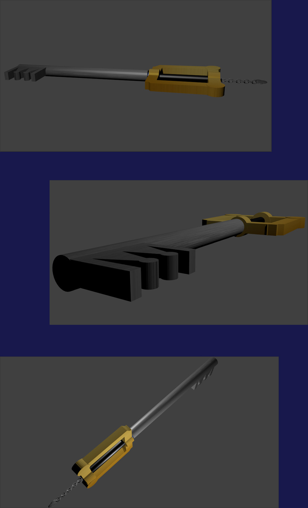 Kingdom Key in Blender